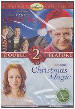HALLMARK HOLIDAY DOUBLE FEATURE CANCEL CHRISTMAS/CHRISTMAS MAGIC (DVD, 2010) NEW