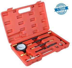 Fuel-Injection-Pump-Pressure-Injector-Tester-Test-Pressure-Gauge-Set-Case