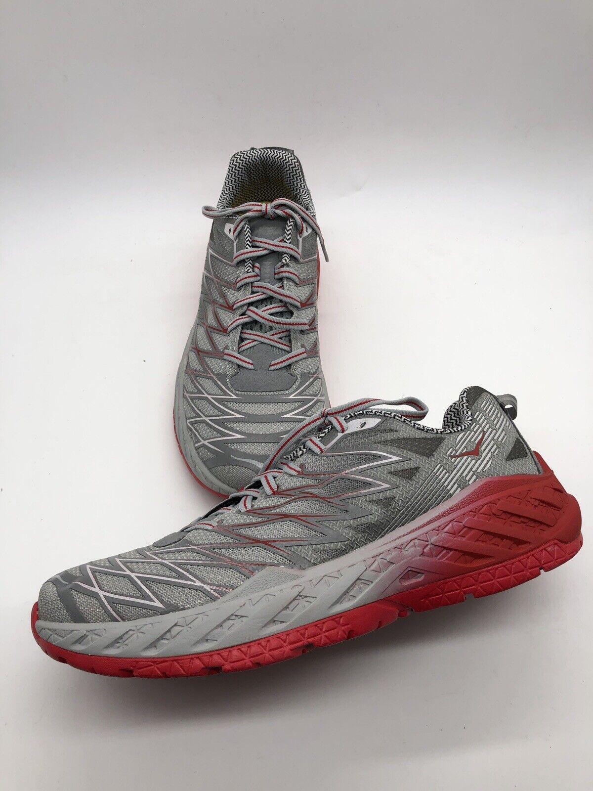 Hoka One Clayton 2 grisscale Running zapatos One para hombres 9 Nuevo Sin Caja B10