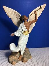 THOMAS BLACKSHEAR  2009 ANGEL GABRIEL Ornament NEW in BOX 2009 Ebony Visions