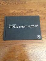 Gta 4 Grand Theft Auto Iv Collector's Edition Hardcover Art Book