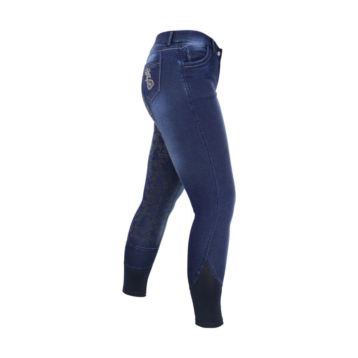 HyPerformance Cheltenham Ladies Pantaloni in Denim Lavato