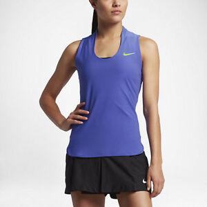 9650ac89854ab Nike Women s NikeCourt Flex Maria PARAMOUNT BLUE Tank 830726-452