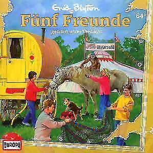 Fünf Freunde 64 geraten unter Verdacht von Enid Blyton (2008)