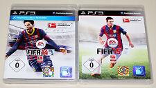 2 PLAYSTATION 3 SPIELE SET - FIFA 14 & FIFA 15 - FUSSBALL SOCCER FOOTBALL PS3 15