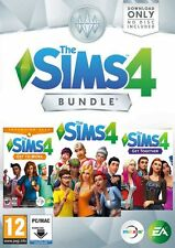 The Sims 4 + Get to Work + Get Together expansion bundle DLC PC/Mac (Origin)