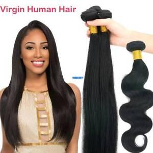 3-bundles-300g-Remy-Virgin-Human-Hair-Extensions-Brazilian-Peruvian-Indian-Weave