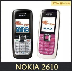 unlocked original nokia 2610 phone cheap mp3 gsm mobile phones good rh ebay com Nokia 2626 Nokia 2690