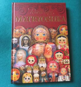Russian-MATRYOSHKA-hard-cover-BOOK-ENGLISH-UNIQUE-Collectors-GIFT-Babushka-DOLL