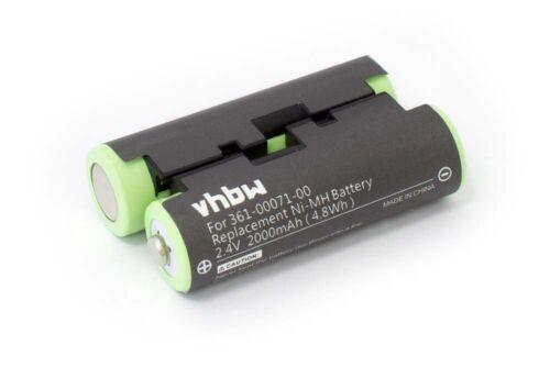 Oregon 600 t, Batterie 2.0ah pour Garmin Oregon 600