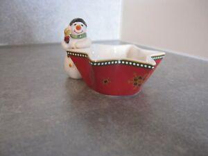 Villeroy & Boch Weihnachten , Teelicht, kleiner Schneemann - München, Deutschland - Villeroy & Boch Weihnachten , Teelicht, kleiner Schneemann - München, Deutschland