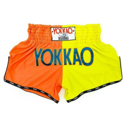 Double Impact Cherry /& Lime Yokkao Muay Thai Shorts