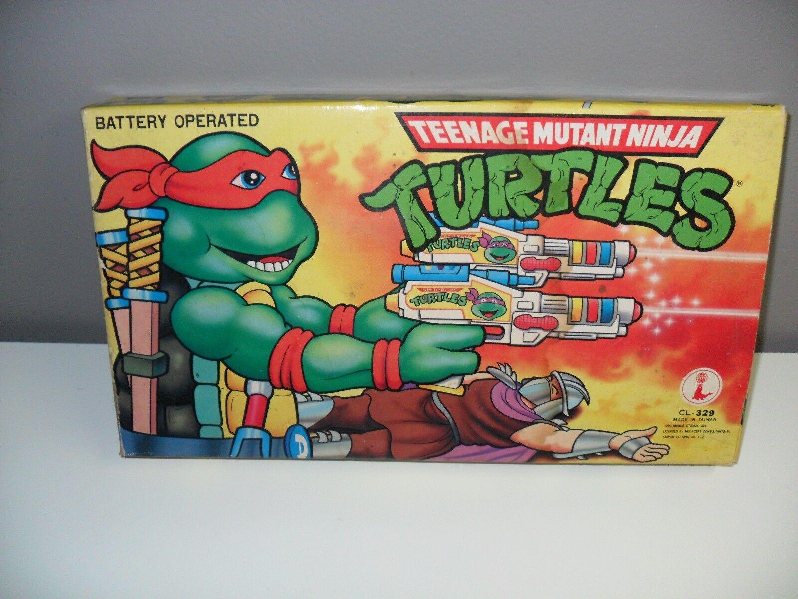 muy popular VHTF 1990 Teenage Mutant Mutant Mutant Ninja Turtles Tmnt Pistola Pistola De Juguete Con Pilas  garantía de crédito