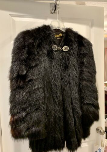 Vintage Monkey Fur Coat