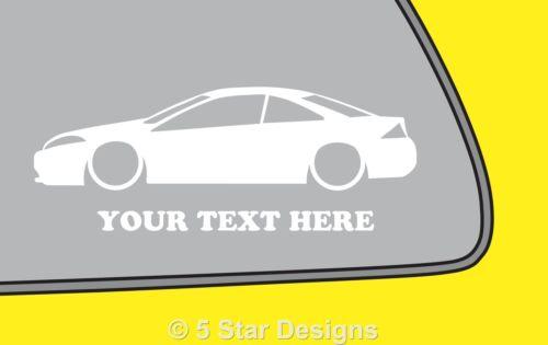 2x Bas De Votre Texte D COUGAR 16vV6 Contour Silhouette Autocollant Decal 197