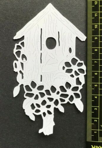 card making die cuts 8 x Tattered Lace Large Birdhouses