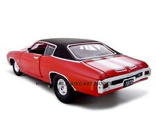 1970 CHEVROLET CHEVELLE PRO STREET SS 454 RED 1:24 CAR BY UNIQUE REPLICAS 18677