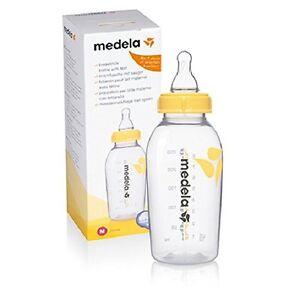MEDELA Breastmilk Bottles 250 ml and Brush