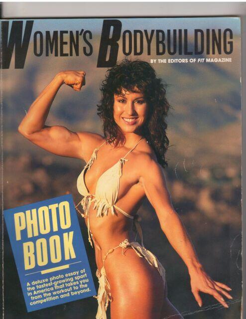 WOMEN'S BODYBUILDING PHOTO BOOK muscle builder Ms Olympia RACHEL MCLISH