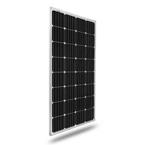 Panel solar panel solar 12 V 150 vatios 150 W celda solar 12 voltios solar monocristalino