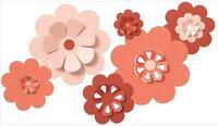 Quickutz Lifestyle Crafts Die Set Nesting Flowers Pop-up, 3d Cc-shape-6-017