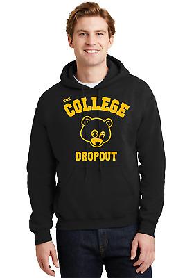 Kanye West The College Dropout Hoodie Yeezus Rap Good Music Crewneck TDE T Shirt