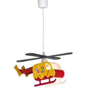 Neu kinderzimmer deckenleuchte deckenlampe helikopter for Kinderzimmer deckenlampe