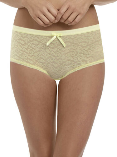 Freya Fancies Short Hipster Mid Rise 1015 Brief Knickers Sheer Lace Lingerie
