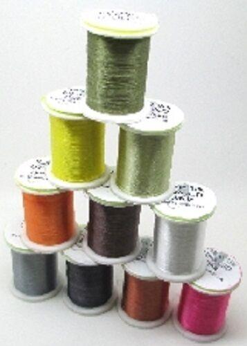 Fly Tying Semperfli Nano Silk Ultra Fine 30D 18//0 finest strongest tying thread
