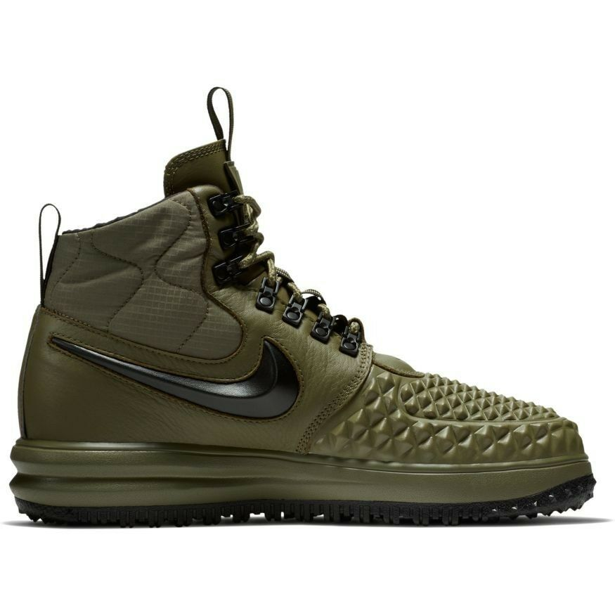 2017 Nike Lunar Air Force 1 Duckboot 17 SZ 12 Medium Olive Green LF1 916682-202
