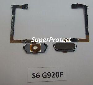 Samsung-Genuino-Original-S6-G920F-Boton-de-Home-Flexible-oro