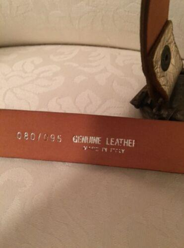 Artigianale 80 Cintura In Made Pelle Italy 95 Vera wiOZPuTkX