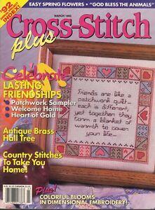Counted-Cross-Stitch-Patterns-Cross-Stitch-Plus-Magazine-14-Projects-March-1993