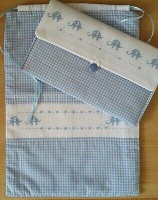 Favoloso Completo sacchetto primo cambio bebé con portapannolini-trousse VC98