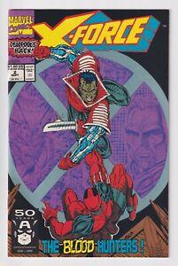X-Force-2-MARVEL-comics-VF-NM-1991-1ST-APPEARANCE-Garrison-Kane