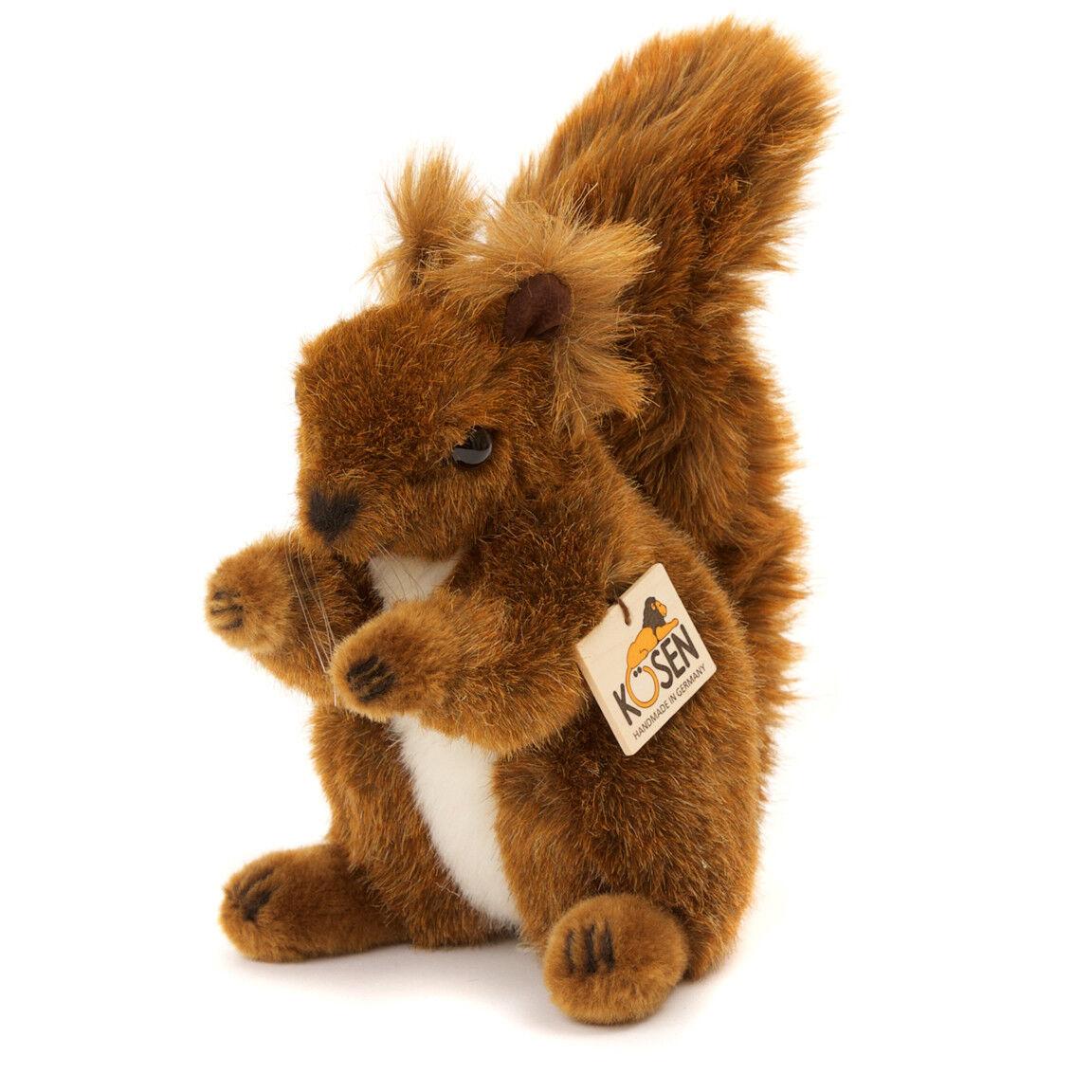 Rot Eichhörnchen - Exquisit Plüsch Sammler kuschelig Plüschtier - - - Kosen   Kösen cd382b