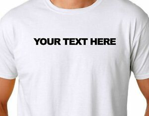 Personalized custom t shirt small thru 4xl create your for Design lab create your own shirt