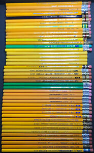 LOT-of-43-VINTAGE-PENCILS-30-Diff-Incl-20-Brands-SOME-SCARCE-HARD-TO-FIND