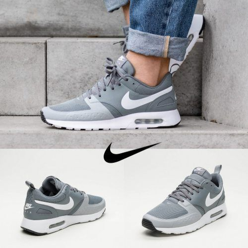 NIKE Air Max Vision Running shoes Grey White 918230-006 SIZE 7-11 Free Shipping