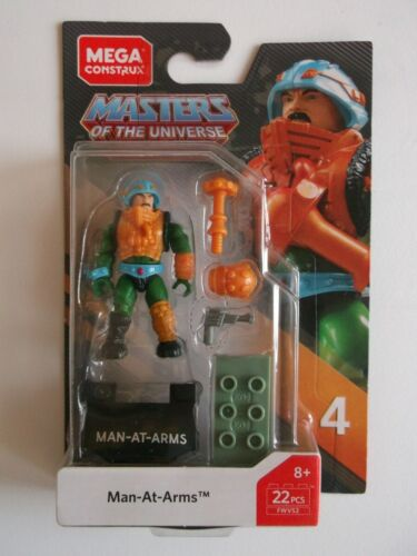 Man At Arms Mega Construx New Masters Of The Universe