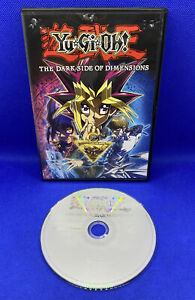 Yu-Gi-Oh: The Dark Side of Dimensions (DVD, 2016) English, Tested And Working!