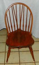 Maple Nichols & Stone Sewing Rocker / Rocking Chair   (RP)  (R52)