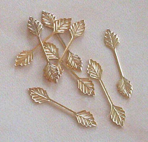 Medio de 100 resultados para la fabricación de joyas Artesanías bolas de hoja de oro plateado 29mm