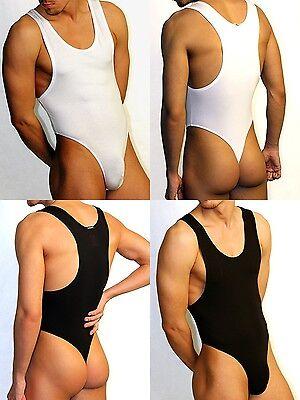 String Body S M L XL XXL Edge Body Thong  Modal Cotton Men's Bodysuit