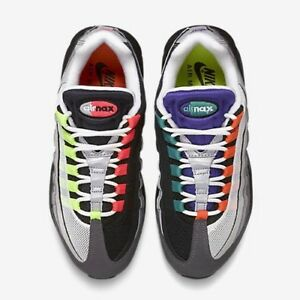quality design 1e73f c7c46 Image is loading Nike-Air-Max-95-OG-QS-What-The-
