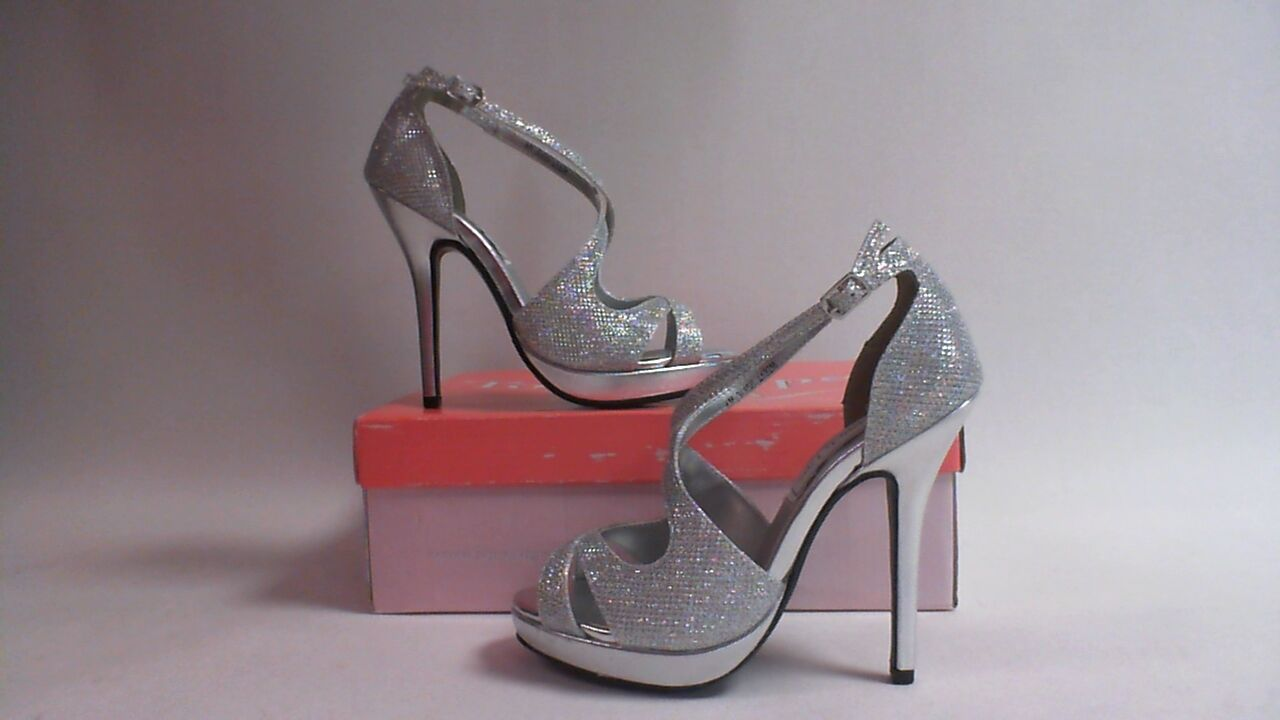 Touch Ups Wedding/Evening Shoes - Dana - Silver - US 6 M - UK 4 #18R411