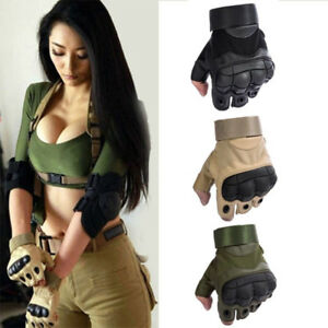 Outdoor Half Finger Military Tactical Hunting Shooting Cycling Gloves Dulcet by Topbluelansus