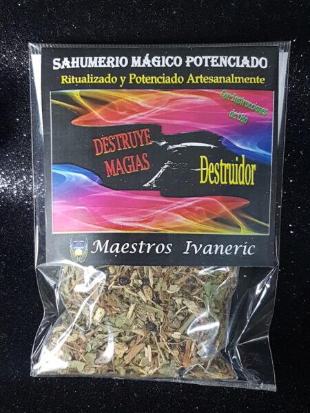 """destruye Magias"" Sahumerio Ritualizado 15gr / ""destroy Spells"" Incense - Ritual"