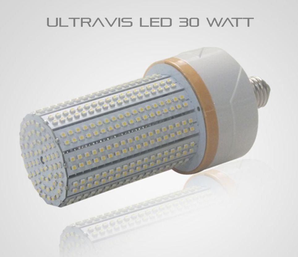 UltraVis LED 30W Outdoor Indoor Retrofit Corn Light, 5K Daylight, E26, UL Listed