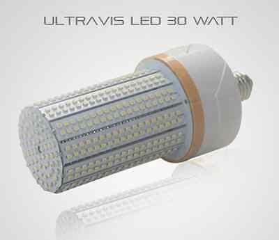 UL E26 UltraVis Weather Proof 30W LED Street Lamp Outdoor Corn Light 5K